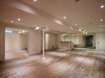 Finishing basement in Grand-trackent