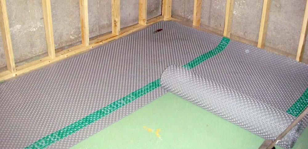 basement subflooring