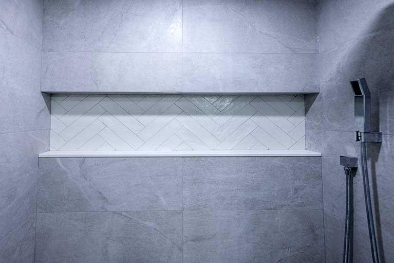 Shower in Basement – Caledon