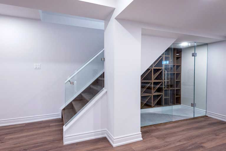 Stairs Installation in Basement – Caledon